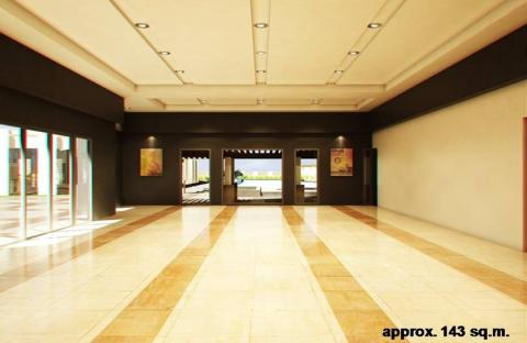 Function Room Perspective Rendering