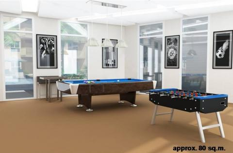 Game Room Perspective Rendering